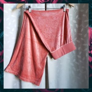 {JuicyCouture}Coral Velour Black Label Track Pant